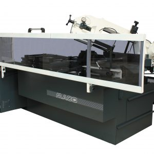 MITERING PROGRAMMABLE AUTOMATIC BANDSAW
