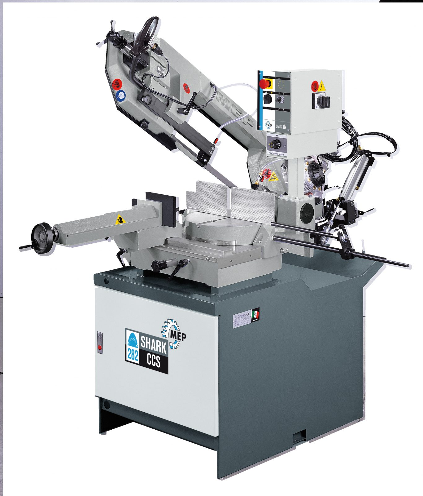 Mep Shark 282 Ccs    Ma Pulldown Bandsaw With Automatic Downfeed  Semi Automatic